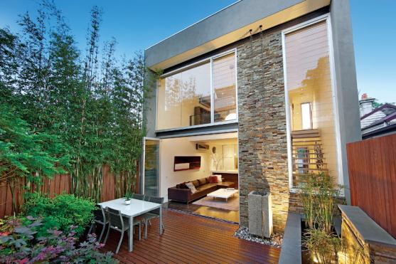 House Exterior Design by AMG Architects