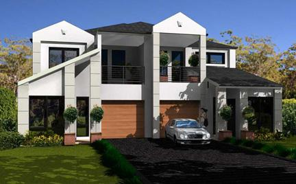 See your house plans come alive in 3d before your eyes for Dual occupancy home designs