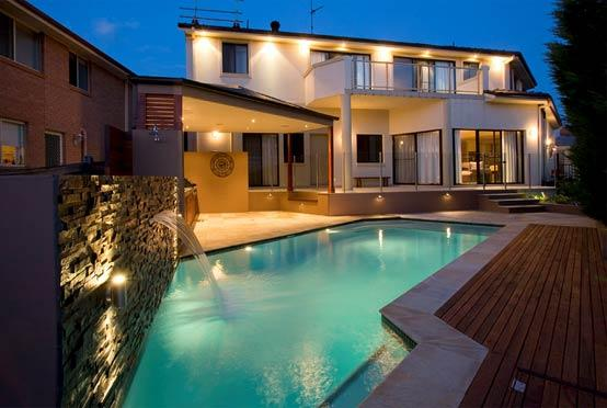 Pool Lights Ideas by Aquastone Pools & Landscapes