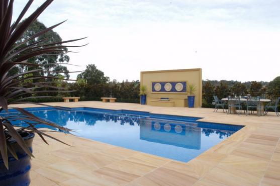 Swimming Pool Designs by Luxury Stone Imports