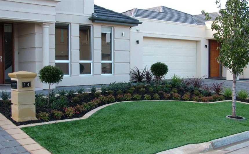 Front yard gardens gallery landscape inspirations s for Front yard lawn ideas