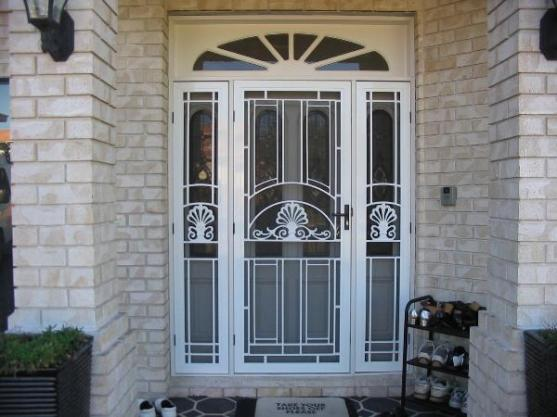 Entrance Designs by Malibu Security Doors & Screens