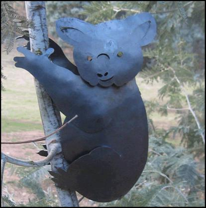 Garden Art Ideas by Overwrought Metalwork & Design