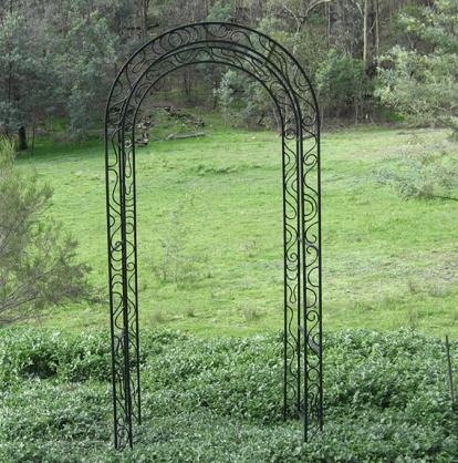 Garden Arch Design Ideas by Overwrought Garden Art