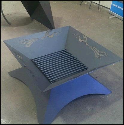 Fire Pit Design Ideas by Overwrought Garden Art
