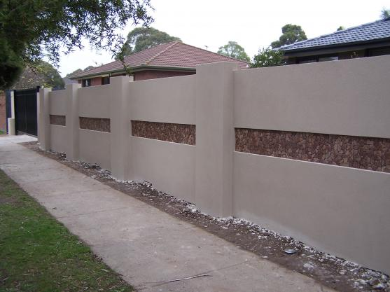 fence designs by gb amos - Wall Fencing Designs
