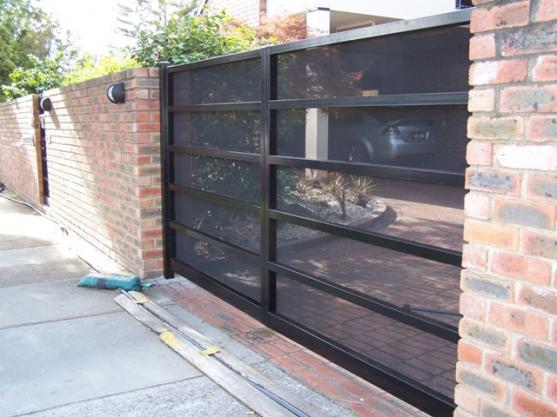 driveway gate designs by gb amos - Gate Design Ideas