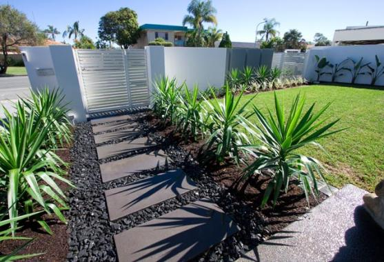 Garden path design ideas get inspired by photos of for Garden design ideas canberra