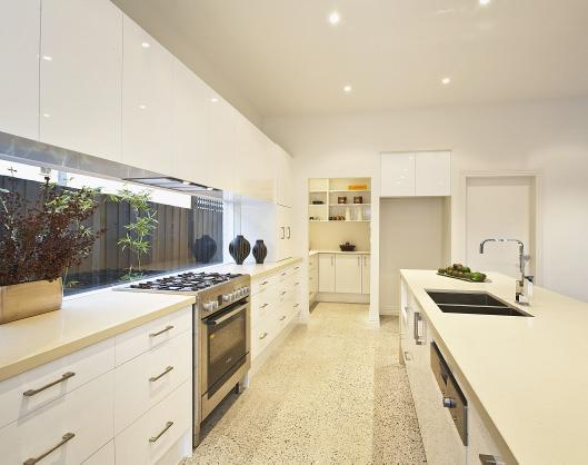 Kitchen design ideas get inspired by photos of kitchens for Galley kitchen designs australia