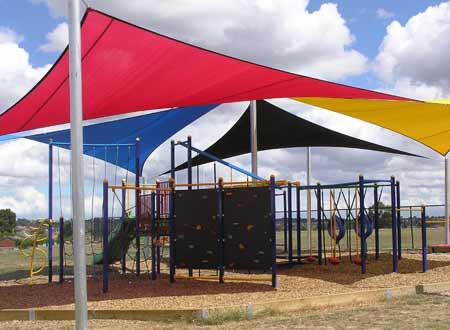Playground Design Ideas by Shade Works