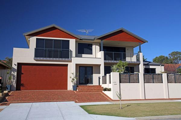 front house exteriors double storey house designs