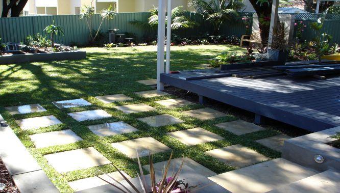 Paving inspiration flair landscape design construction for Design landscapes australia