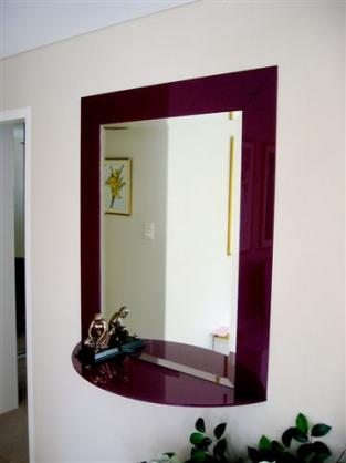 Mirror Designs  by Freelance Glass
