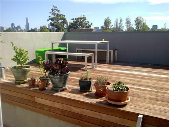Elevated Decking Ideas by True  Blue  Homes