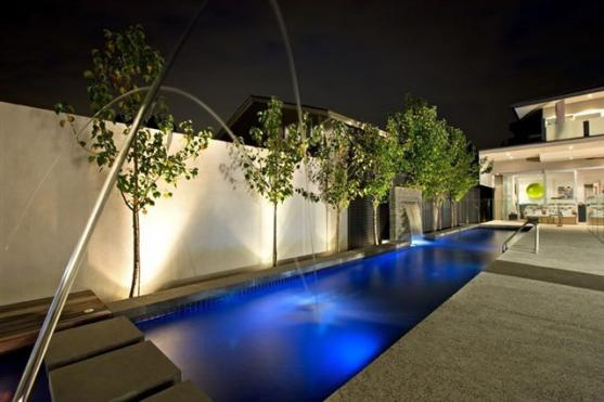 Pool Lights Ideas by Ultimate Showers & Robes