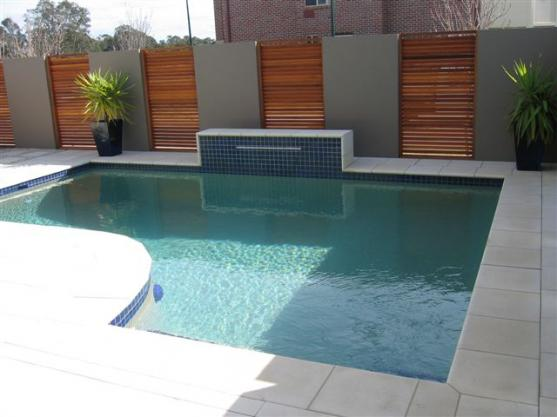 Backyard Feature Wall Ideas pool design ideas - get inspiredphotos of pools from australian