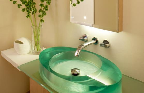 Bathroom Tap Ideas by Dominique Tiller Interiors