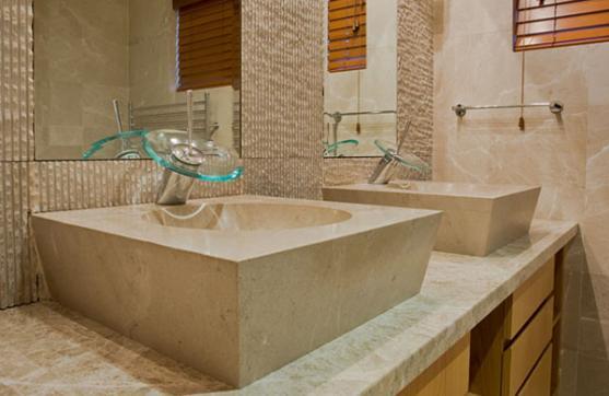 Bathroom Basin Ideas by Dominique Tiller Interiors
