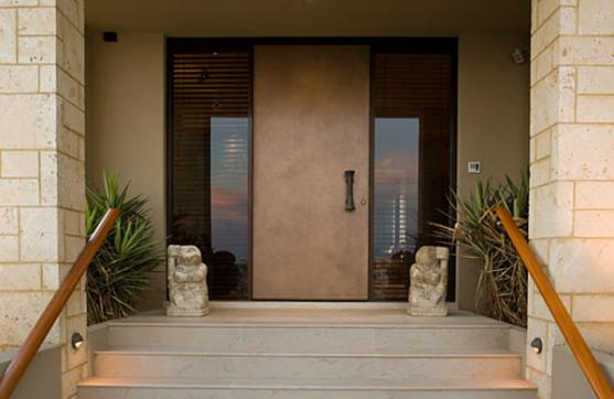 Entrance Designs by Dominique Tiller Interiors