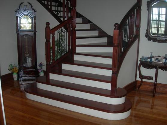 Stair Designs by Cedar Windows, Baltic Windows, Villa Stairs & Benchcraft Kitchens