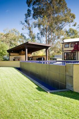 Infinity Pool Design Ideas by Cantwell Pools & Tennis Courts