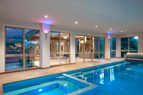 Indoor Swimming Pool Designs by Cantwell Pools & Tennis Courts