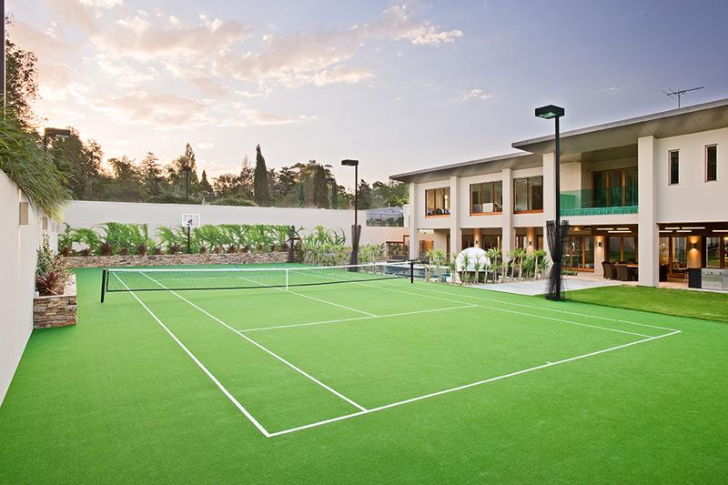 How much does a tennis court cost How much does a sport court cost