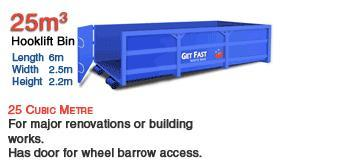 Skip Bin Sizes for Hire