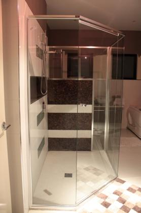 Frameless Shower Screen Designs by HRD's Showers & Glass Pty Ltd