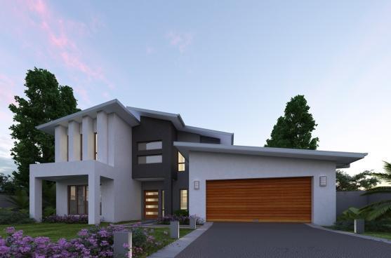 House Exterior Design by Akudos Homes