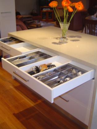 Kitchen Drawer Inserts Ideas by Overall Cabinets Pty Ltd