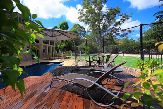 Get inspired by photos of pool decking from australian for Adelaide innovative landscaping
