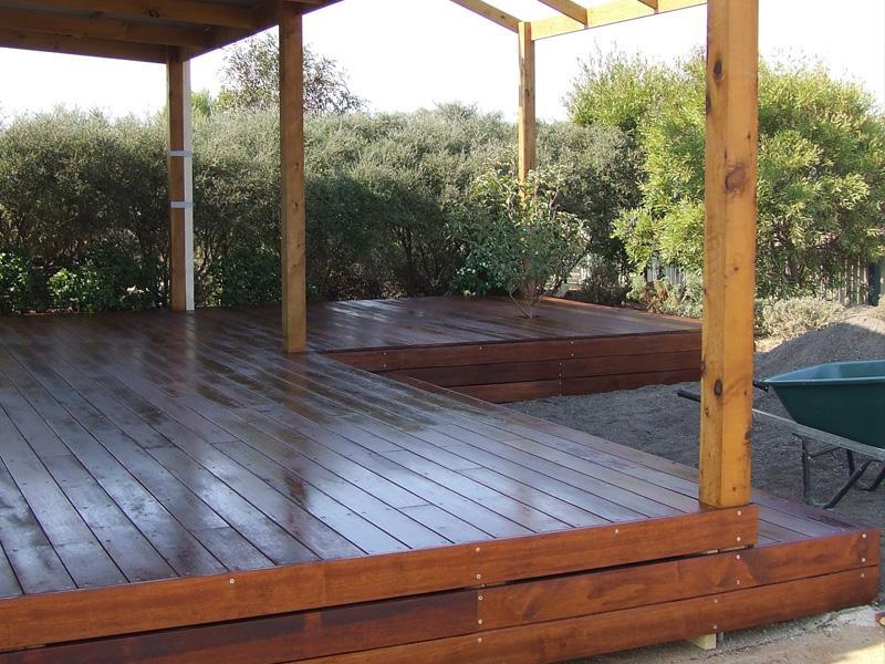 Timber decks inspiration deck me out australia for Australian hardwood decking