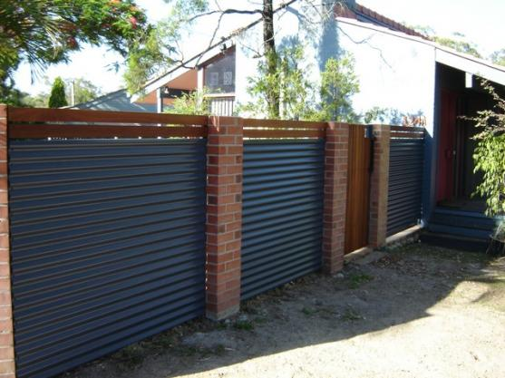 Colorbond Fencing Desgins by The Fence Barn