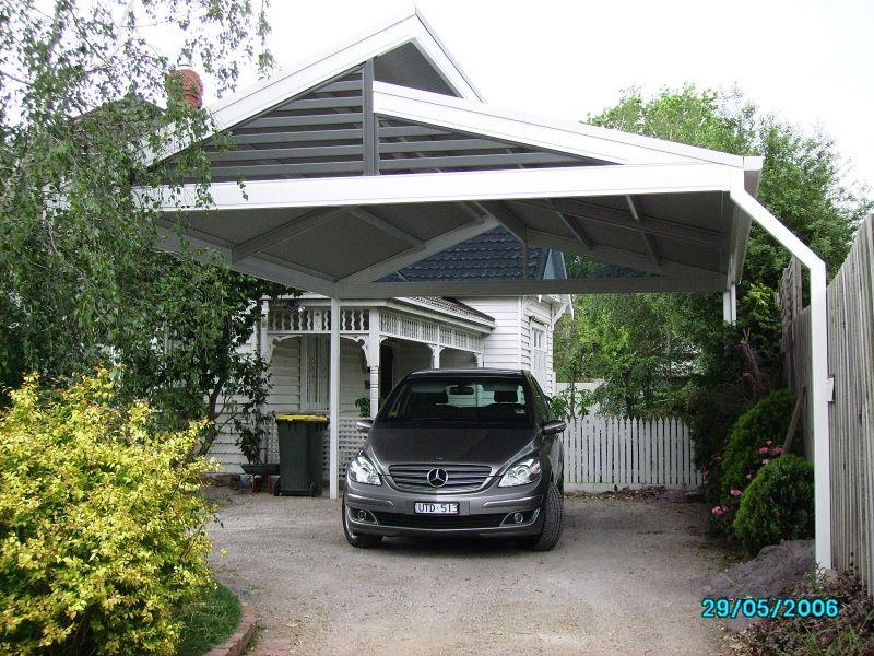 Carports inspiration pergolas plus outdoor living for Carport flooring ideas