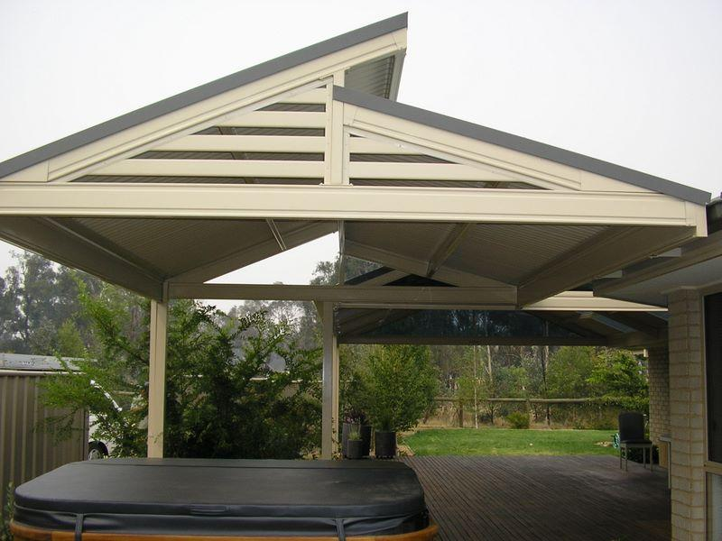 Style Ideas Pergolas Split Gable Plus