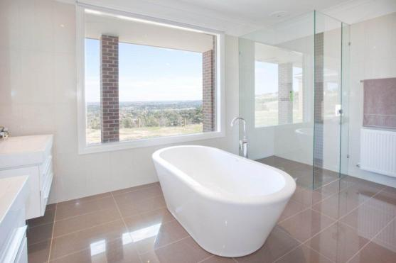 Freestanding Bath Design Ideas by GC Davidson Constructions