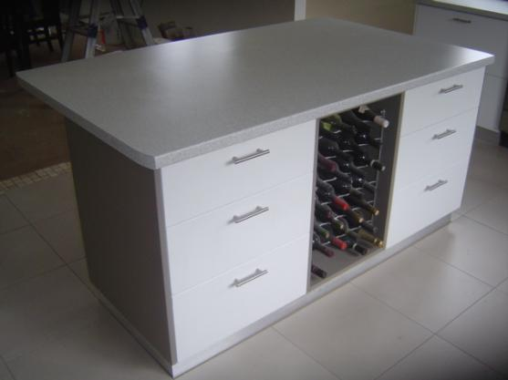 Wine Rack Ideas by Overall Cabinets Pty Ltd