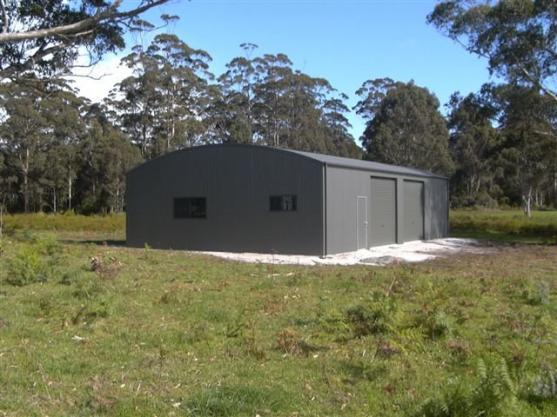 Shed Designs by Koster Steel Construction P/L