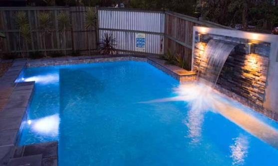 Pool Lights Ideas by Rogers Pools