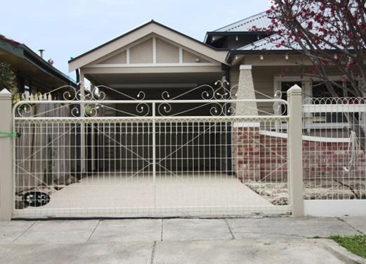 Home Design Gate Ideas: Driveway Gate Design Ideas
