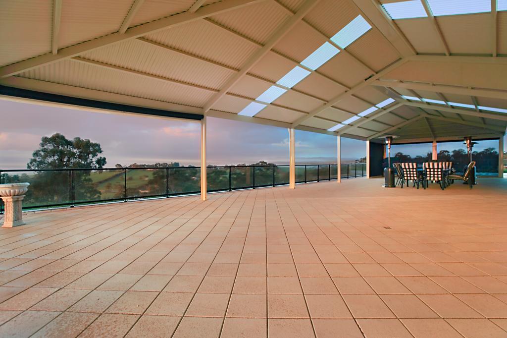 Creative outdoors for Gable patio designs