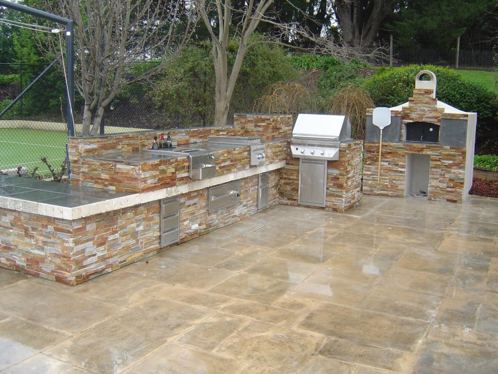 Style ideas outdoor kitchens outdoor kitchens now renovations australia Kitchen garden design australia