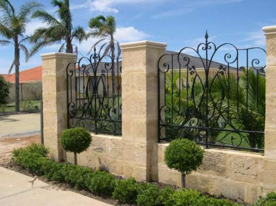 fence designs by magic metals wa - Wall Fencing Designs