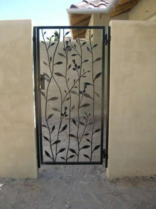 Front Gate Designs by Magic Metals WA