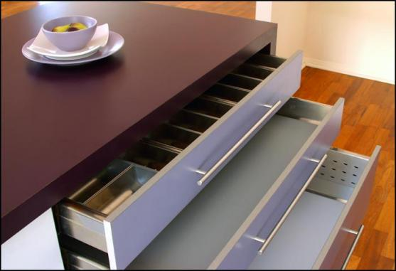 Kitchen Drawer Design Ideas by Enigma Interiors