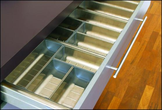Kitchen Drawer Inserts Ideas by Enigma Interiors
