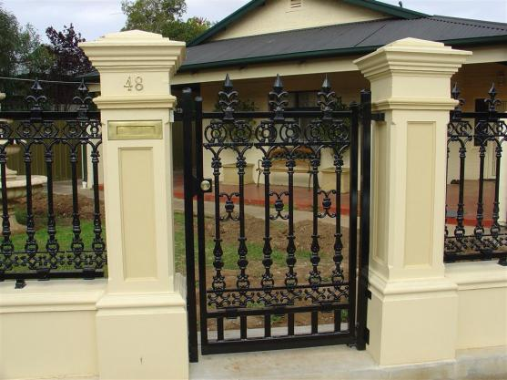 Wrought Iron Gates by Hindmarsh Fencing & Wrought Iron Security Doors