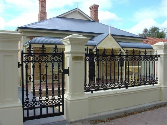 Front Gate Designs by Hindmarsh Fencing   Wrought Iron Security Doors. Front Gate Design Ideas   Get Inspired by photos of Front Gates
