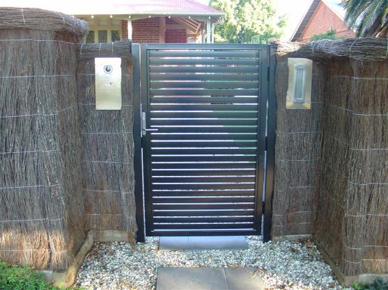 Front Gate Designs by Hindmarsh Fencing & Wrought Iron Security Doors
